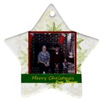 gram and pop3 - Ornament (Star)