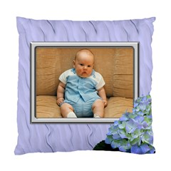 Lilac Delight (2 Sided) Cushion By Deborah   Standard Cushion Case (two Sides)   Ixcj2z2xcwu4   Www Artscow Com Front