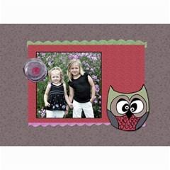 2015 Owlie Calendar By Amanda Bunn   Wall Calendar 8 5  X 6    Ub0w17vaen09   Www Artscow Com Month