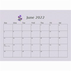 Pretty In Mauve 2018 (any Year)calendar, 8 5x6 By Deborah   Wall Calendar 8 5  X 6    5x4ttpugz6a5   Www Artscow Com Jun 2018