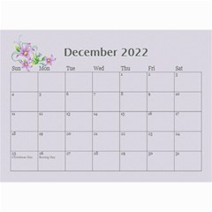 Pretty In Mauve 2018 (any Year)calendar, 8 5x6 By Deborah   Wall Calendar 8 5  X 6    5x4ttpugz6a5   Www Artscow Com Dec 2018
