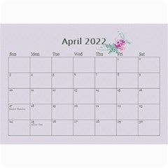 Pretty In Mauve 2018 (any Year)calendar, 8 5x6 By Deborah   Wall Calendar 8 5  X 6    5x4ttpugz6a5   Www Artscow Com Apr 2018