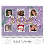 The Look of Lace 2017 Calendar 8.5x6 - Wall Calendar 8.5  x 6