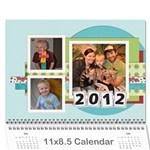 2012 Calendar - Wall Calendar 11  x 8.5  (12-Months)