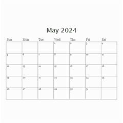 Elegant In Silver 2017 (any Year) Calendar 8 5x6 By Deborah   Wall Calendar 8 5  X 6    7q8ldsyl0dul   Www Artscow Com May 2017