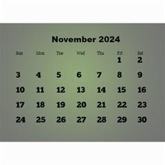Styled In Green 2018 Calendar (large Numbers) Mini By Deborah   Wall Calendar 8 5  X 6    Sqwvu9m43v5f   Www Artscow Com Nov 2018