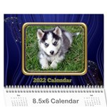 Showcase 2017 (any Year) Calendar 8.5x6 - Wall Calendar 8.5  x 6