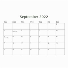 Showcase 2016 (any Year) Calendar 8 5x6 By Deborah   Wall Calendar 8 5  X 6    C1w82s112vma   Www Artscow Com Sep 2016
