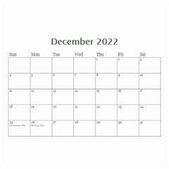 Showcase 2016 (any Year) Calendar 8 5x6 By Deborah   Wall Calendar 8 5  X 6    C1w82s112vma   Www Artscow Com Dec 2016