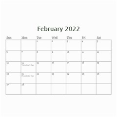 Showcase 2016 (any Year) Calendar 8 5x6 By Deborah   Wall Calendar 8 5  X 6    C1w82s112vma   Www Artscow Com Feb 2016