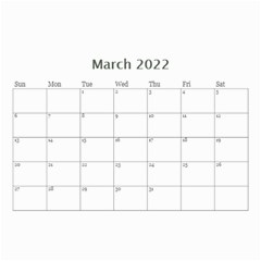 Showcase 2016 (any Year) Calendar 8 5x6 By Deborah   Wall Calendar 8 5  X 6    C1w82s112vma   Www Artscow Com Mar 2016
