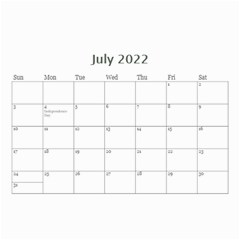 Mini Calendar For Guys By Jennyl   Wall Calendar 8 5  X 6    Jcynjk6v2wum   Www Artscow Com Jul 2016