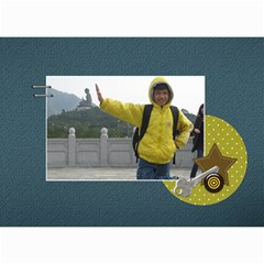 Mini Calendar For Guys By Jennyl   Wall Calendar 8 5  X 6    Jcynjk6v2wum   Www Artscow Com Month