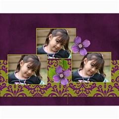 Mini Calendar: Lavander Love By Jennyl   Wall Calendar 11  X 8 5  (12 Months)   Oknlcs0zcb0u   Www Artscow Com Month