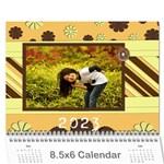 2015 lovey - 8.5x6 wall calendar - Wall Calendar 8.5  x 6
