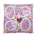 Wedding pink lavander Double Sided Cushion Case - Standard Cushion Case (Two Sides)