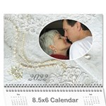 Our Wedding or Anniversary 2017 (any Year Calendar Mini - Wall Calendar 8.5  x 6