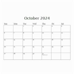 Framed In Silver 2017 (any Year) Calendar 8 5x6 By Deborah   Wall Calendar 8 5  X 6    Cxlyt2ccv7rb   Www Artscow Com Oct 2017