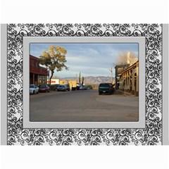 Framed In Silver 2017 (any Year) Calendar 8 5x6 By Deborah   Wall Calendar 8 5  X 6    Cxlyt2ccv7rb   Www Artscow Com Month