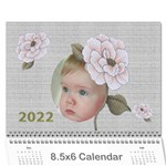 Delight 2018 (any year) Calendar 8.5x6 - Wall Calendar 8.5  x 6