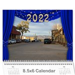 Our Production 2017  (any Year) Calendar 8.5x6 - Wall Calendar 8.5  x 6