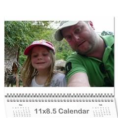 2012 Calendar By Hannah   Wall Calendar 11  X 8 5  (12 Months)   P3to8dmr9geo   Www Artscow Com Cover