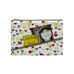 Girly-Heart Medium Bag - Cosmetic Bag (Medium)