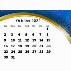 2017 Mini Calendar With Class And Large Numbers By Deborah   Wall Calendar 8 5  X 6    Ur97q45pj0ko   Www Artscow Com Oct 2017