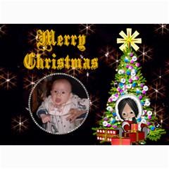 Christmas Child Christmas Card By Kim Blair   5  X 7  Photo Cards   Vttcei0pk16z   Www Artscow Com 7 x5 Photo Card - 7