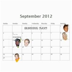 Bff Calendar 2012 By Casey Shultz   Wall Calendar 11  X 8 5  (12 Months)   H7jqlkildc01   Www Artscow Com Sep 2012