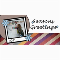 Seasons Greetings By Amanda Bunn   4  X 8  Photo Cards   Lor2mlt4nj7f   Www Artscow Com 8 x4 Photo Card - 2