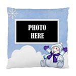 5 Little Snowman 1 sided cushion - Standard Cushion Case (One Side)