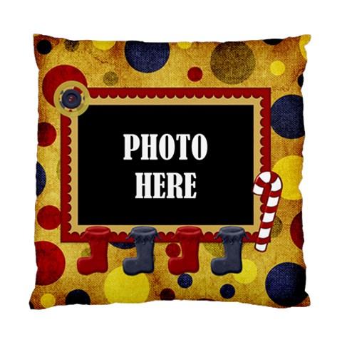 Lone Star Holiday 1 Sided Cushion By Lisa Minor   Standard Cushion Case (one Side)   L8j3mz24gxc5   Www Artscow Com Front