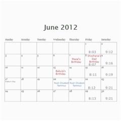 Cal 2012 By Shoshana   Wall Calendar 11  X 8 5  (12 Months)   Rhy1g4nmiy95   Www Artscow Com Jun 2012