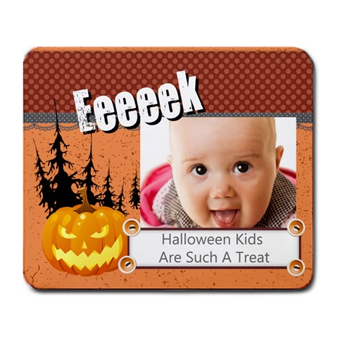 Halloween By Joely   Large Mousepad   G01c0qf1m65f   Www Artscow Com Front