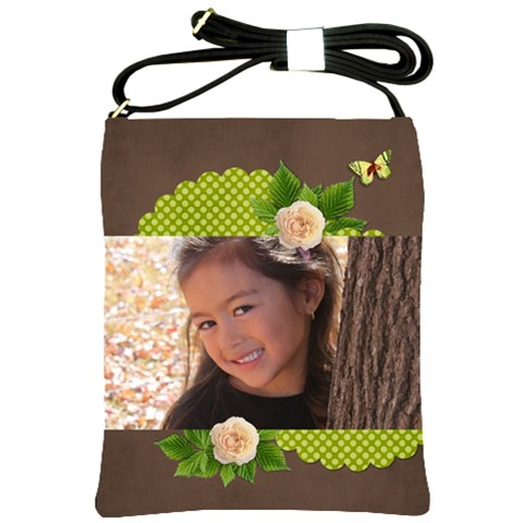 Shoulder Sling Bag: Sweet Girl By Jennyl   Shoulder Sling Bag   U86ptqx8aonk   Www Artscow Com Front