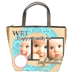 Family By Joely   Bucket Bag   Els4sech6mvy   Www Artscow Com Front