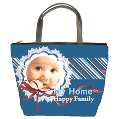Family By Joely   Bucket Bag   Xcnki83xlmh2   Www Artscow Com Front
