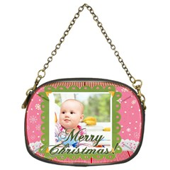 Christmas By Joely   Chain Purse (two Sides)   Tbcugh6mwqfr   Www Artscow Com Front