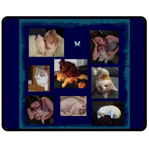 Heather By Vickie Bjornsen   Fleece Blanket (medium)   Gx4i5xzwv9lb   Www Artscow Com 60 x50 Blanket Front