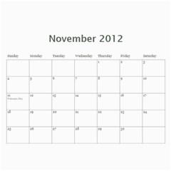 Airplane Calander By Sandra Oldham   Wall Calendar 11  X 8 5  (12 Months)   2hsfq89ke7r4   Www Artscow Com Nov 2012