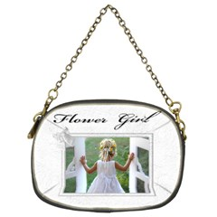 Flower Girl (2 Sided ) Purse By Deborah   Chain Purse (two Sides)   E89umubdy26v   Www Artscow Com Front