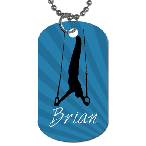 Name Dog Tag 5 By Martha Meier   Dog Tag (one Side)   Kq51ibuqyxv9   Www Artscow Com Front