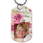 mom - Dog Tag (One Side)