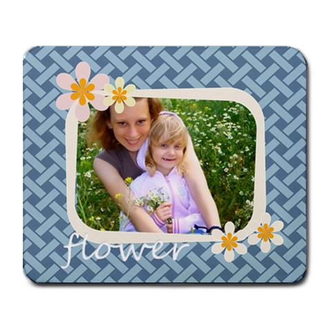 Flower  By Joely   Collage Mousepad   Ygrpmonrg3n5   Www Artscow Com 9.25 x7.75 Mousepad - 1