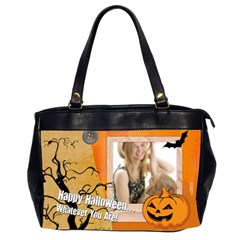 Halloween By Joely   Oversize Office Handbag (2 Sides)   S4lir295np8s   Www Artscow Com Front