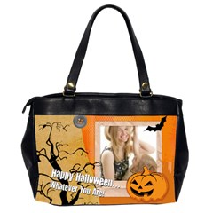Halloween By Joely   Oversize Office Handbag (2 Sides)   S4lir295np8s   Www Artscow Com Back