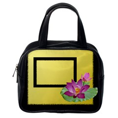 Lily Pond Handbag (2 Sided) By Deborah   Classic Handbag (two Sides)   U90z4oqkkm9t   Www Artscow Com Back