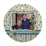 Ornament-Round-Kellie and Kenton - Ornament (Round)