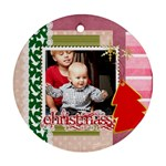 christmas gift idea - Ornament (Round)